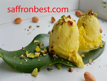 eyjan saffron ice cream